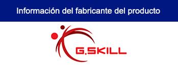 MEMORIA G.SKILL RIP JAWS V DDR4 8GB (1x 8GB) 2800 MHz, RED